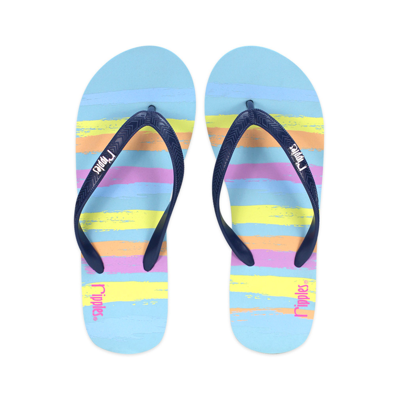 Flip-Flops FLIP FLOPS The next best thing to going barefoot — the latest women's flip-flops, from classic flat leather sandals to wedges in graphic prints and bright colors.
