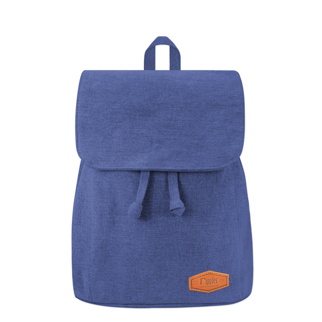 Rayne Basic Ladies Backpack (Mid Blue Wash Denim)