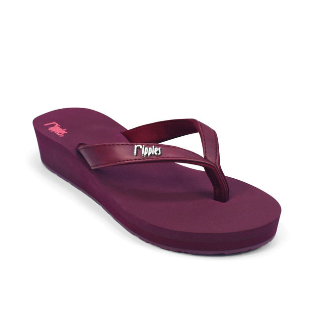 [SALE] Andre Basic Classic Ladies Wedges (Maroon)