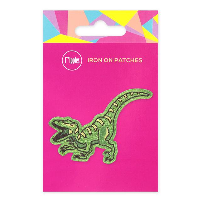 [PROMO] Dinosaur Iron-On Patch