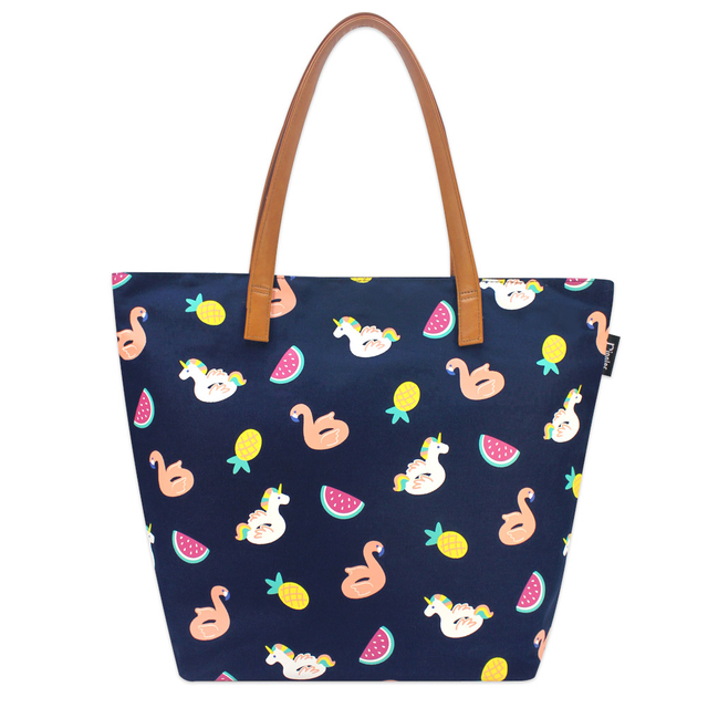 [Limited Time Special] Summer Floats Tote Bag (Navy Blue)