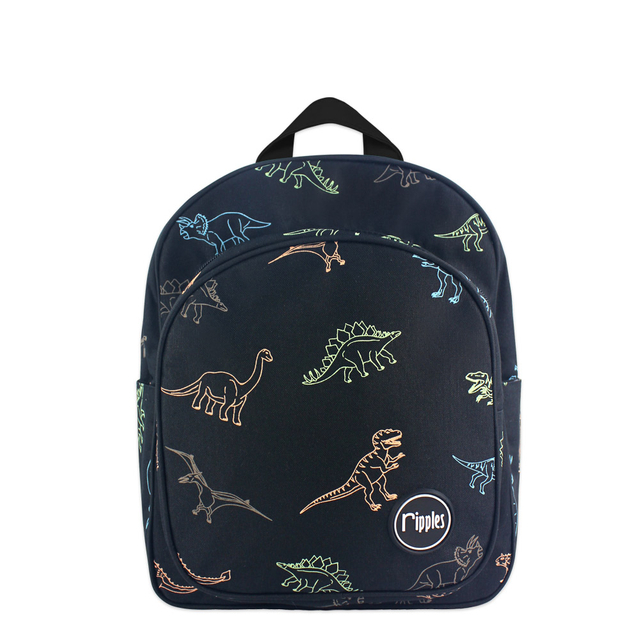Dinosaur Kids Backpack (Black)