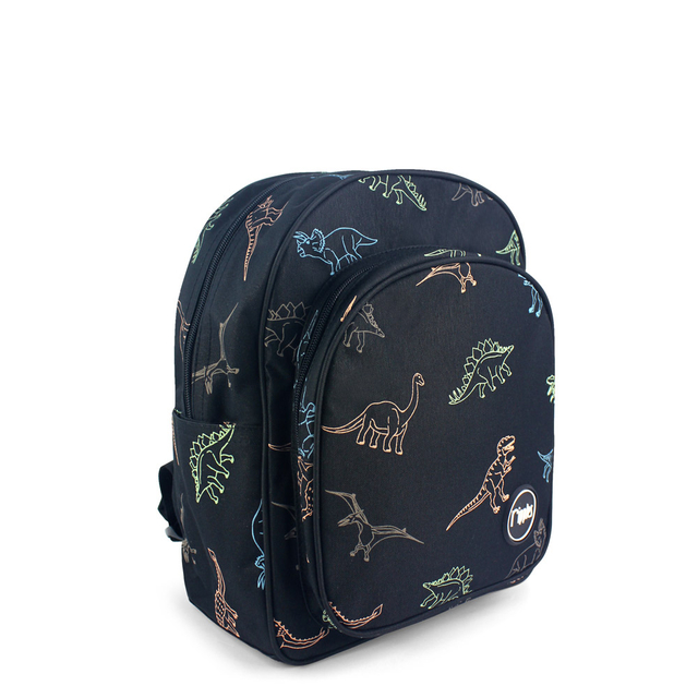 Dinosaur Kids Backpack (Black)