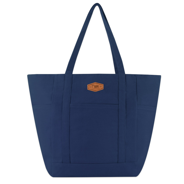 [PROMO]  Caylie Carry-All Tote Bag (Navy Blue)