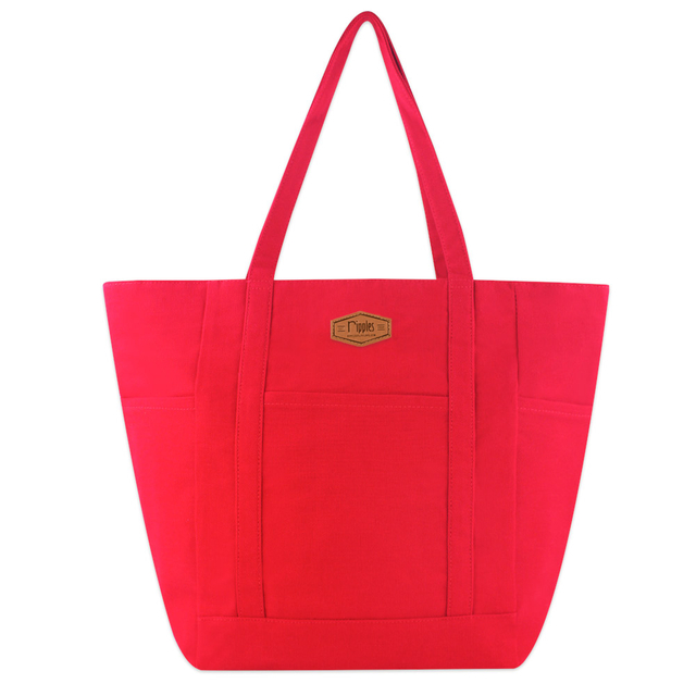 [PROMO]  Caylie Carry-All Tote Bag (Red)