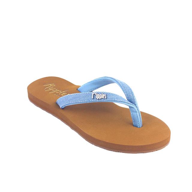 Ella Arch Support Sandals (Light Denim)