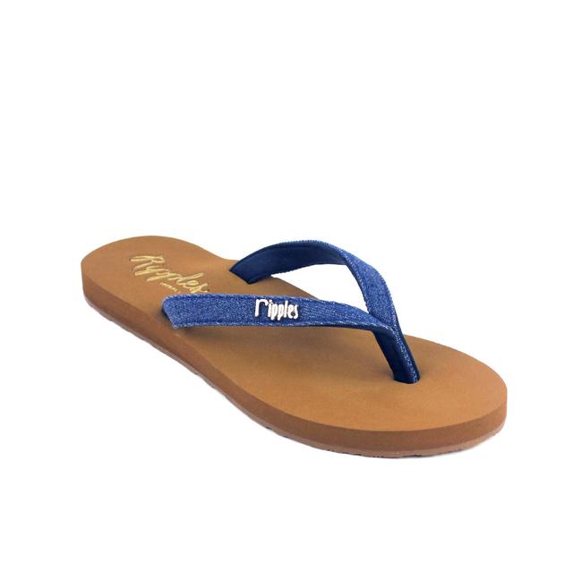 Ella Arch Support Sandals (Mid Blue Denim)