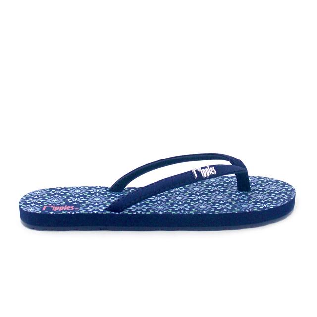 [SALE] Nadia Ladies Flip Flops (Navy Blue)