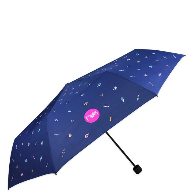[PROMO] Arika Aztec Umbrella (Navy Blue)