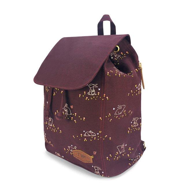 [PROMO] Meadow Rabbits Ladies Backpack (Maroon)