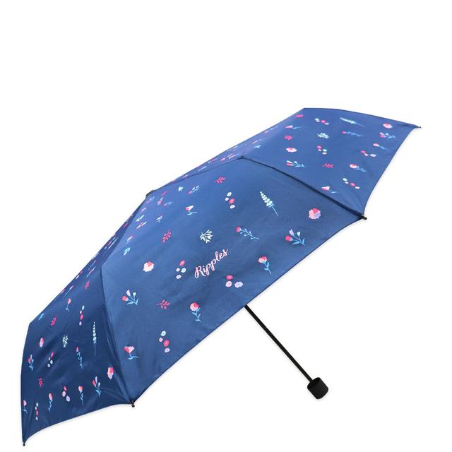 [PROMO] Alyssa Floral Umbrella (Navy Blue)