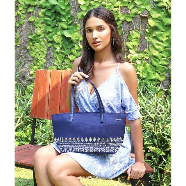 Astrial Aztec Handbag (Navy Blue)