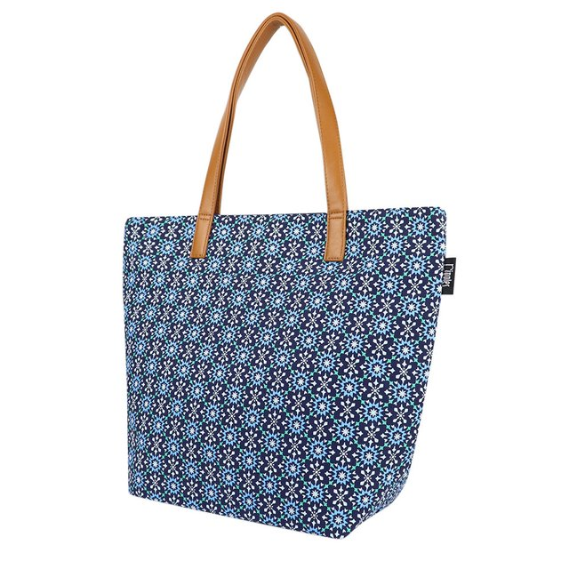 [Limited Time Special]  Nadia Tote Bag (Navy Blue)
