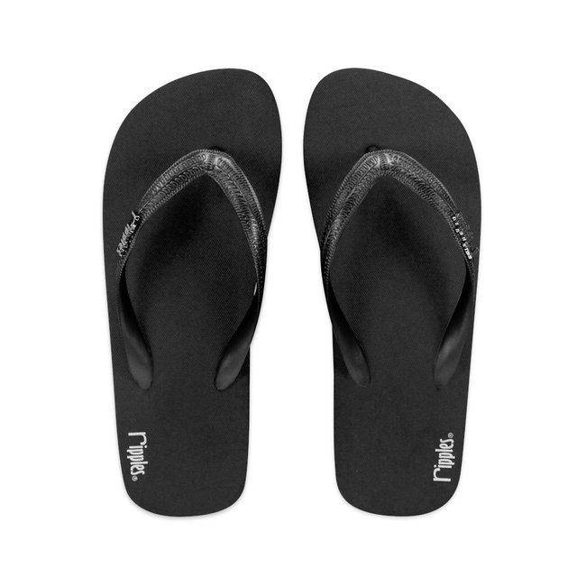 Andre Basic Men Flip Flops (Black)