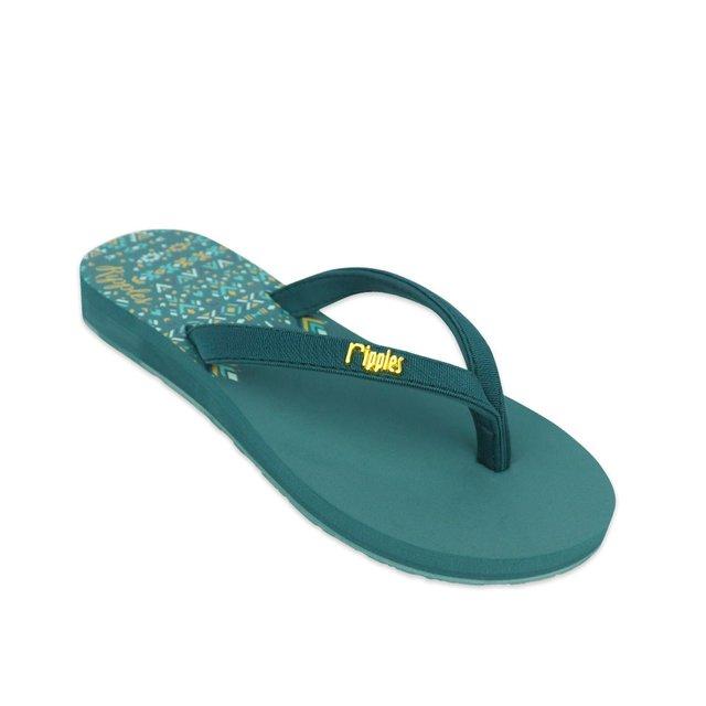 Astrial Aztec Ladies Sandals (Deep Forest Green)