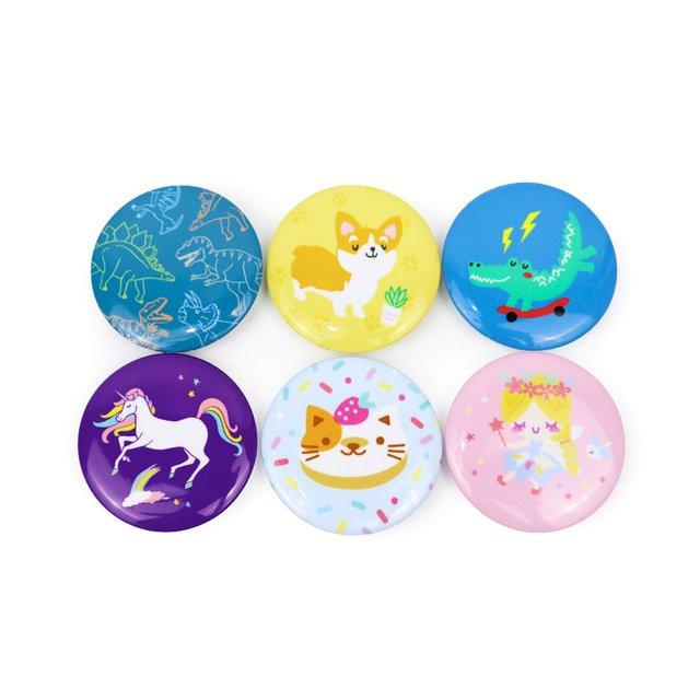 [PROMO] Pin Badges Set B