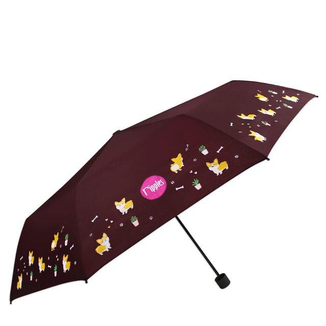 [PROMO] Corgi Dog Umbrella (Brown)