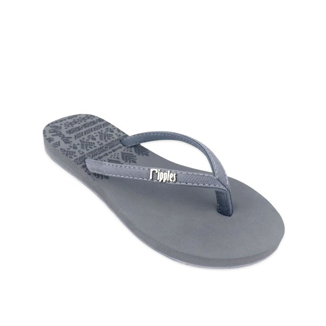 Astrial Aztec Laser Embossed Ladies Sandals (Grey)