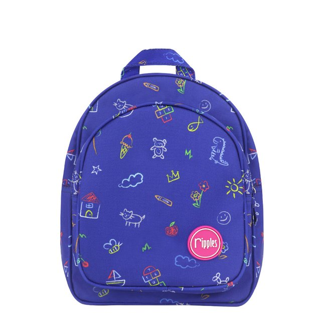 Kids Doodle Kids Backpack (Navy Blue)